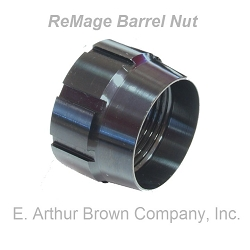 Remage Barrel Nut Converts Remington 700 to Pre-Fit Barrels