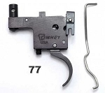 Timney 601 Ruger® Model 77® Trigger - Tang Safety Black