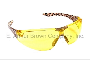 ELVEX Avion 18 Shooting Glasses - Amber Leopard