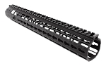 M5/AR10 Free Float Handguard, 15 Inch Gen 2 , KEY-MOD w/ Barrel Nut