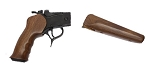 TC G2 Contender Pistol Frame 8700 Blue/Walnut w/Grip and Forend-FFL Required