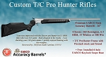 Custom T/C Pro Hunter Stainless Rifle with Premium EABCO Accuracy Barrel