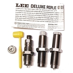 Lee Deluxe Die Sets Closeout - Full Length Sizer, Seater, and Collet Neck Sizer