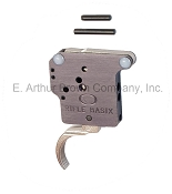 Rifle Basix L-1-S Hunting Trigger fits Remington 700, 40X, 7, and XR-100, Silver