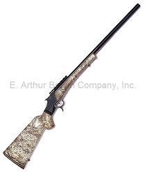 Standard Model 97D Rifle 24'', Blue Steel and Black Anodize, Camo Stock, 6.5mm BRM