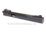 Volquartsen LLV Competition Pistol Upper, Black, 6 inches, Target Sights [VC2LLV-B-6-NT-TS]