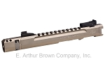 Volquartsen LLV Competition Pistol Upper, Silver, 4.5 inches, Compensator, Target Sights [VC2LLV-S-4-C-TS]