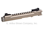 Volquartsen LLV Competition Pistol Upper, Silver, 4.5 inches, Target Sights [VC2LLV-S-4-TS]