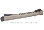 Volquartsen LLV Competition Pistol Upper, Silver, 6 inches, Target Sights [VC2LLV-S-6-TS]