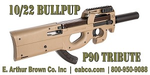 Ruger 10/22 Bullpup Stock - Military Grade Polymer