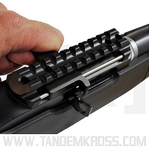 Advantage Left Side 10/22 Charging Handle and Picatinny Scope Base