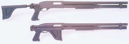 Remington 870 Folding Stock with Forend