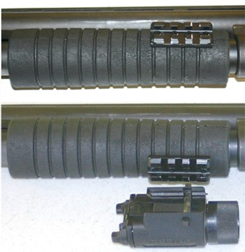 Remington 870 Forend with Picatinny Rail