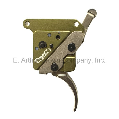 Timney 512-V2 Elite Hunter Trigger fits Rem 700 w/Safety RIGHT Handed Nickel Plated