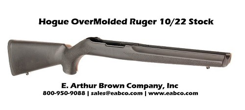 Hogue OverMolded Ruger 10/22 Stock