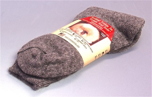 Angora Wool Socks - Angora is 8X Warmer Than Sheep Wool