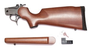 TC G2 Contender Rifle Frame 8720 Blue/Walnut w/Stocks-FFL Required
