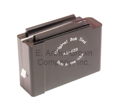 Original Bob Sled AI-223 Single Shot Magazine fits AICS, RPR, CDI, Badger, Oryx, MDT Mag Wells