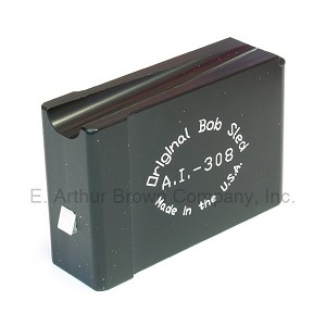 Original Bob Sled AI-308 Single Shot Magazine fits Accuracy International, RPR, CDI, Badger Mag Wells