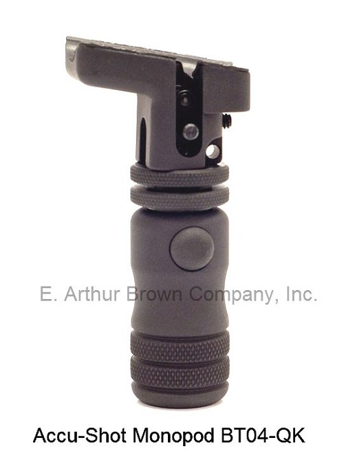 Accu-Shot Quick-Knob Locking Monopod (Swivel Stud Mounted)