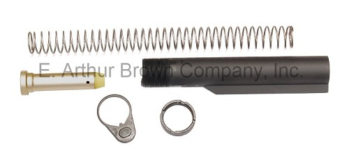 AR15 Commercial Buffer Tube Kit - Fits M4 Style Collapsible Stocks