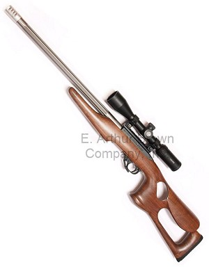 Barracuda 10/22 Stock Walnut by Magnum Research RH (Fits .920'' Dia Target Barrels)