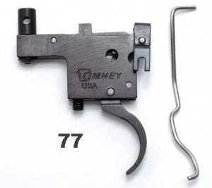 Timney 601 Ruger? Model 77? Trigger - Tang Safety Black