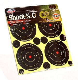 "Shoot-N-C 3"" Stick On Targets (48)"