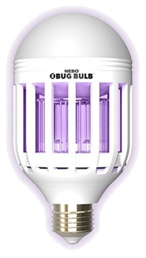 NEBO Z-Bug Bulb - Bug Zapper and LED Light Bulb