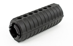 AR15/M4 Plastic Handguard, Two Piece, Shielded, Carbine Length
