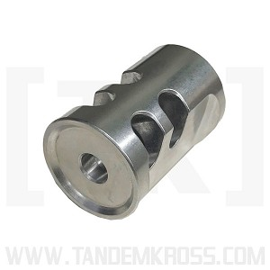 Steel Game Changer Pro Compensator STAINLESS fits Ruger MK, SW22 Victory, Buckmark, etc.