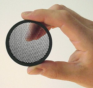 Honey-Comb Sunshades for Flip-Open Lens Covers