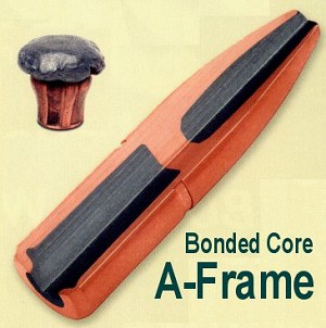 Swift A-Frame Bullets (50) - Bonded Core Partition Bullets