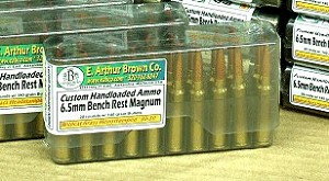 Custom Loaded 6.5mm BRM Loaded Ammunition 140gr Hornady A-Max (20)