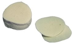 TC Round Ball Patches, .45 to .50 Caliber Unlubed (100)
