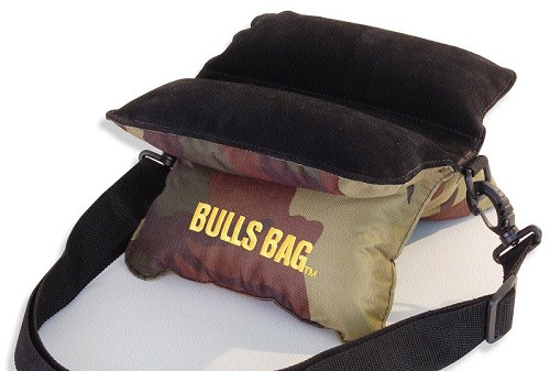 Field Bulls Bag 9.5 Camo/Suede Shooting Rest