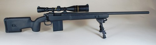 Choate Remington 700 Short Action Stock inletted for Badger Detachable Magazine Bottom Metal