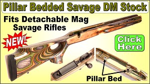 Savage Laminated Thumbhole Stock for Detachable Mag Rifles